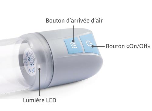 Tête électrique vacuum
