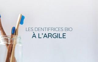 dentifrice à l'argile bio