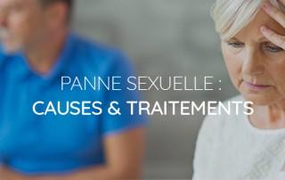 Problèmes d'érection Que faire en cas de panne sexuelle