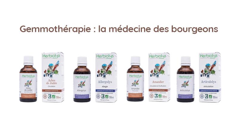 Gemmothérapie : la médecine des bourgeons