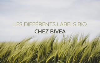 Les différents labels bio chez Bivea