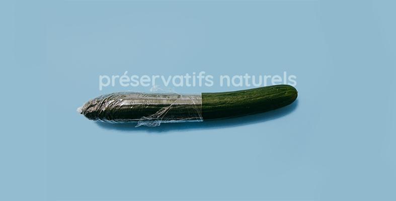 Préservatif naturel latex