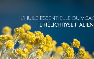 Huile essentielle pour le visage - Helichryse italienne