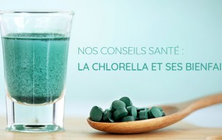 Chlorella - l'algue verte et ses bienfaits