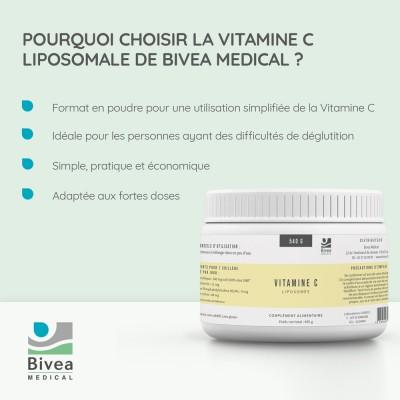 Les avantages de la vitamine C liposomale Bivea Médical