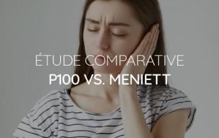 étude comparative p100 vs. meniett